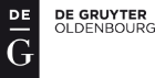 logo DeGruyter Oldenbourg